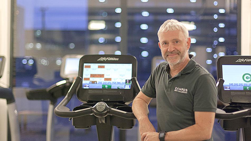 Thomas Kelbling ist Teil unseres Teams, denn im Campus Sports Club Saarbrücken werdet Ihr von geschultem Personal betreut, das genau weiß, worauf es ankommt.