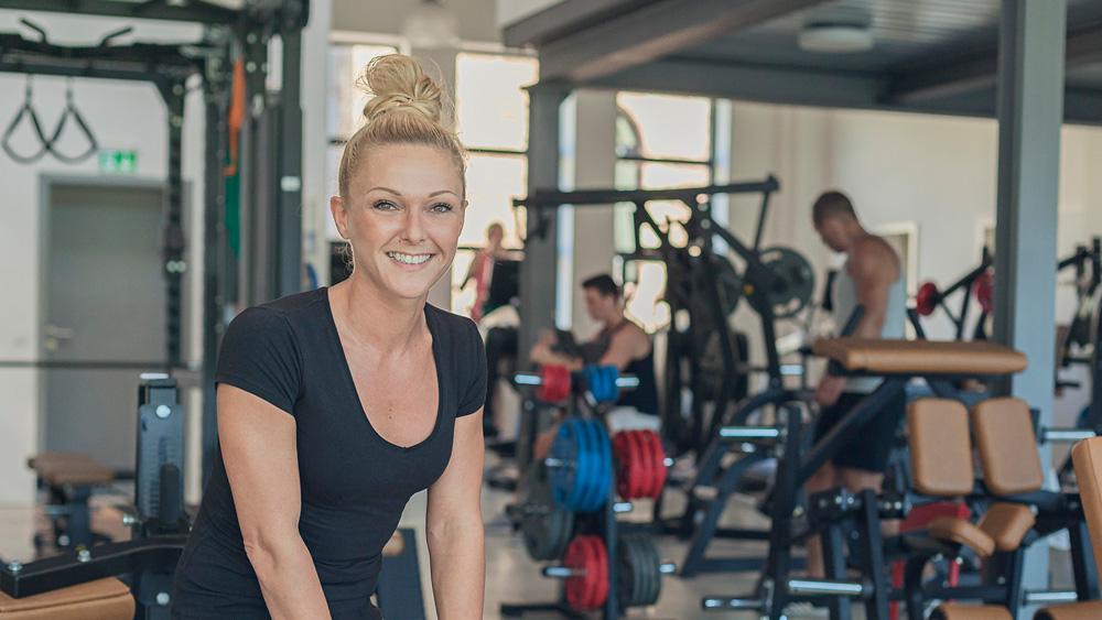 Janine Kuhn ist Teil unseres Teams, denn im Campus Sports Club Saarbrücken werdet Ihr von geschultem Personal betreut, das genau weiß, worauf es ankommt.